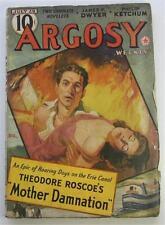 ARGOSY PULP 7/29/39 THEODORE ROSCOE JAMES FRANCIS DWYER W C TUTTLE FRANCIS GOTT