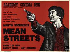 Mean Streets Robert de Niro cult movie poster print #3