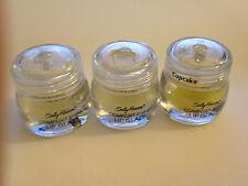 3 NEW SEALED SALLY HANSEN COMFORT SHINE LIP GLAZE GLOSS - CUPCAKE