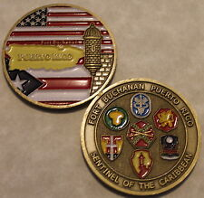Fort Buchanan Puerto Rico Army Challenge Coin