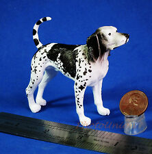 Dog Hund English Coonhound Figur Statue Modell DIORAMA A519