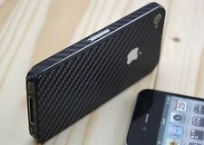 Carbon fiber film sticker for iphone 5 5S 5th full body stickers Top Quality