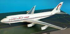 InFlight200 Boeing 747-400 Royal Air Maroc Référence : IF744RM011 (avec Socle )