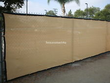 5' x 25' UV Rated 85% Blockage Fence Privacy Windscreen W/Grommets