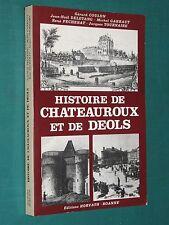 Histoire de Châteauroux et de Déols BERRY INDRE G. COULON et al.
