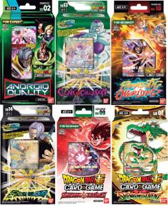 DRAGON BALL Z SUPER CARD GAME DECKS BRAND NEW ~ SET OF 6