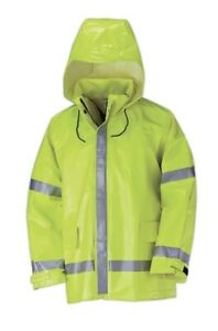 Bulwark Protective Class 2 Flame Resistant Jacket XLG High Visibility Reflective