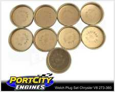 Welch Welsh Brass Core Plug Kit Set for Chrysler V8 SB 273 318 360 WPK-C318