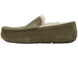 UGG Men's ASCOT Casual Comfort Suede Slipper Loafers BURNT OLIVE 1101110