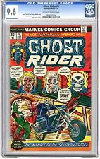 Ghost Rider #6  CGC 9.6 NM+ off - white to white pgs Western Hero Version 10/67