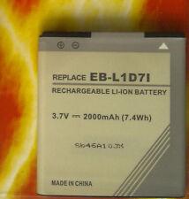 Hm9119ls Li-ion 3,7v 2000mah Batteria per Samsung Galaxy S II LTE eb-l1d7ibu