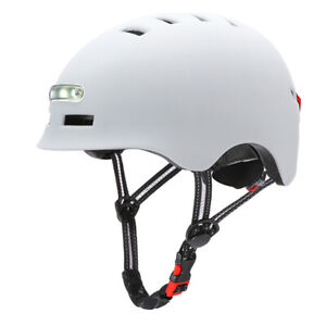Bike Helmet for Adults Men Women with Rechargeable USB Light, Bicycle T6K9