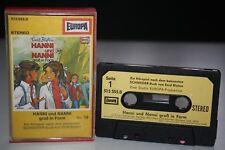 HANNI UND & NANNI 10 groß in Form - schwarz/gelbe MC Kassette ENID BLYTON