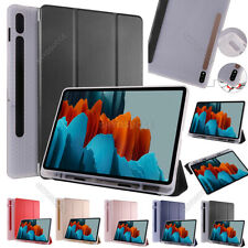 """Für Samsung Galaxy Tab S7 Plus 12.4"""" SM-T970 T975 Flip Stand Schutzhülle Tasche"""