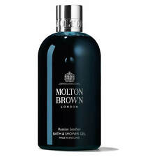 ORIGINAL MOLTON BROWN RUSSIAN LEATHER BATH & SHOWER GEL 300ML FREE UK DELIVERY