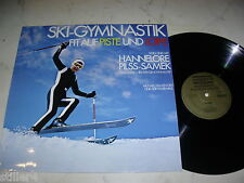 Ski Gym Fit on slopes and cross-country skiing with Hannelore pilss-samek * 70s Vinyl LP *