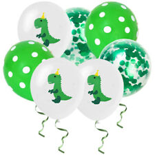 "15Pcs 12"" Dinosaur Balloons Latex Kids Birthday Home Decorations Party Supply"