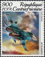 SUKHOI Su-34 Russian Air Force Strike Fighter Bomber Aircraft Stamp (2019)