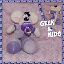 Peluche Diddl bébé avec tétine et pyjama violet - 17cm - Ref C26