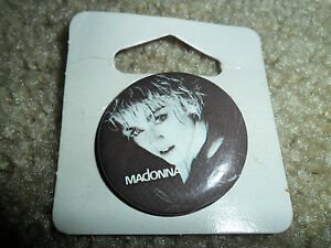 "Vintage 1986 Madonna ""Papa Don't Preach"" 1.5 inch button"
