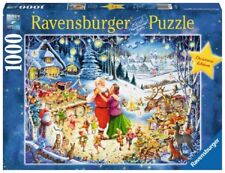RAVENSBURGER JIGSAW PUZZLE ULTIMATE CHRISTMAS PARTY ROY TROWER 1000 PCS  #19765