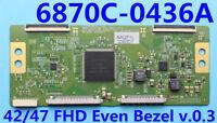 LG 47WS50BS-B T-Con Board 6871L-3080D (6870C-0436A)