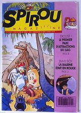 b)SPIROU N°2763; Le premier parc d'attractions du gag !