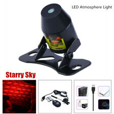 LED Starry Sky Light Car Interior Ceiling Lamp Music Control Universal w/ Remote