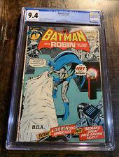Batman Comic #240 CGC 9.4⭐️Classic Neal Adams⭐️Amazing Book⭐️
