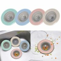 Kitchen Silicone Sink Strainers Hair Catcher Bathroom Shower Covers Spam Filters
