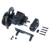 CNC Chassis/Gear Box Transmission Case 2 Speed Kit for 1/10 Axial SCX10 RC Car