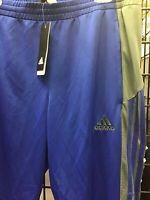 New Adidas  Tiro 17 Soccer Pants Royal Blue / Grey Youth Large NWT