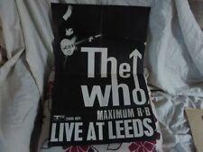 THE WHO LIVE AT LEEDS ORIGINAL 1970s A3 [BILBO] B4.- 2406 - 001 TRACK RECORDS.