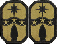 2 Pack U.S. Army 371st Sustainment Brigade OCP Hook Military Patches