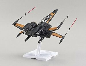 Force Awakens Poe's Star Wars X-wing Starfigter 1/72 model kit new in the box