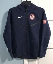 Nike United States Olympic Team Full Zip Hooded Sweatshirt - Youth XL