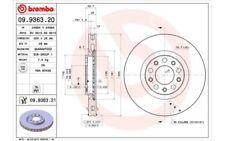 2x BREMBO Discos de Freno Traseros Ventilación interna 305mm 09.9363.21