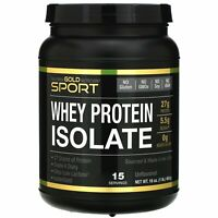 California Gold Nutrition  SPORT  Whey Protein Isolate  Unflavored  90  Protein