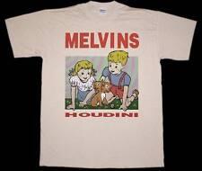 MELVINS HOUDINI SLUDGE METAL STONER ROCK FANTOMAS NEW NATURAL COLOR T-SHIRT