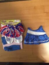 """New * Cheerleader Outfit + Accessories for 8-10"""" Teddy Bear or Doll # B1"""