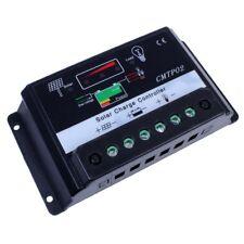 10A Panneau solaire batterie régulateur charger contrôleur 12V/24V Auto XI