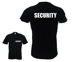 Security Men's T-Shirt - BODYGUARD STAFF JOB WORK JOKE GIFT PRESENT OUTFIT FUN