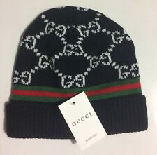 Black Fashion Gucci Beanie Headwear 🔥🔥Kobe Mamba🔥Pre owned With Tags