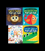 Little Snappers Pop Up 4 Books Set Collection Pack Inc Twit-Twoo, Splish Splash