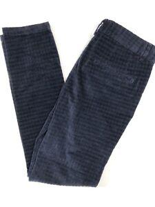 River Island Mens New Blue Cotton Rich Cord Trousers Sz 26R - 32R BNWT