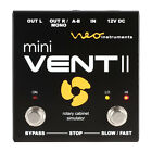 Neo Instruments Mini Vent II Rotary Speaker Leslie Pedal for sale