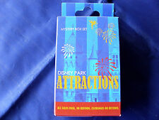 Disney Parks * ATTRACTIONS & CHARACTERS * New & Sealed 2-Pin Mystery Box