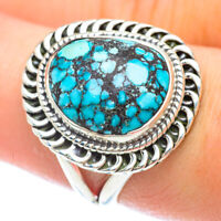 Tibetan Turquoise 925 Sterling Silver Ring Size 8.5 Ana Co Jewelry R56269F