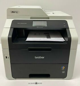 MFC9340CDWZU1 - Brother MFC-9340CDW A4 Colour Multifunction Inkjet Printer