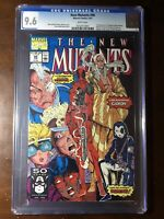 New Mutants #98 (1991) - 1st Deadpool!! - CGC 9.6! - White Pages!